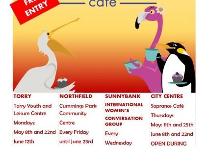 lang cafeNew dates May - June